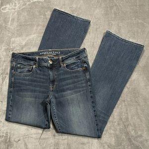 American Eagle Super Stretch Kick Boot Jeans!